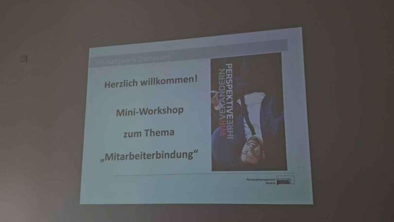 """Erfolgreicher Mini-Workshop zum Thema """"Mitarbeiterbindung"""""""